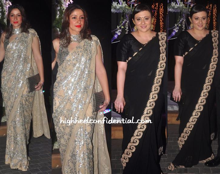 Bhavana Pandey And Avantika Malik At Riddhi-Tejas Sangeet Ceremony-2
