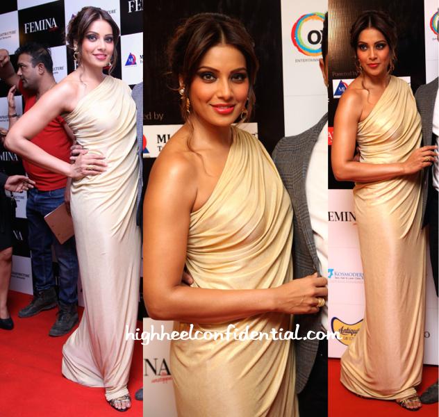 Bipasha Basu In Vineti Bolaki At Femina Style Diva 2014-2