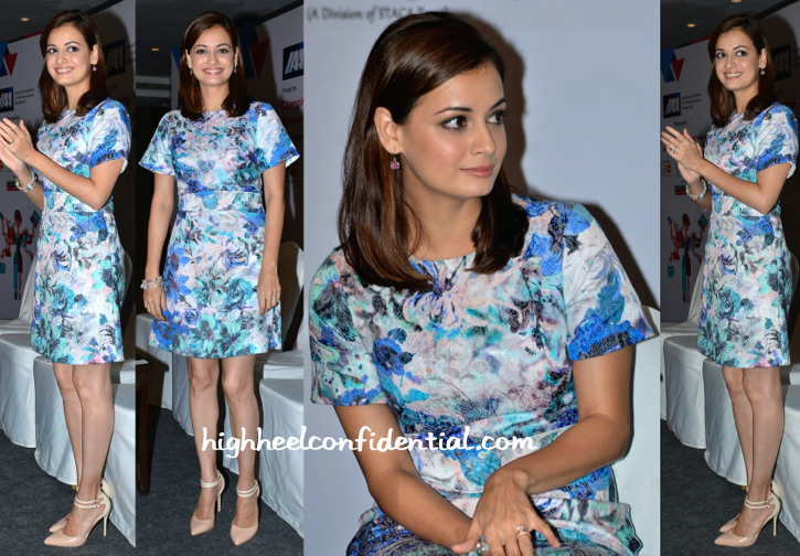 Dia Mirza At Advertising Council Of India Event