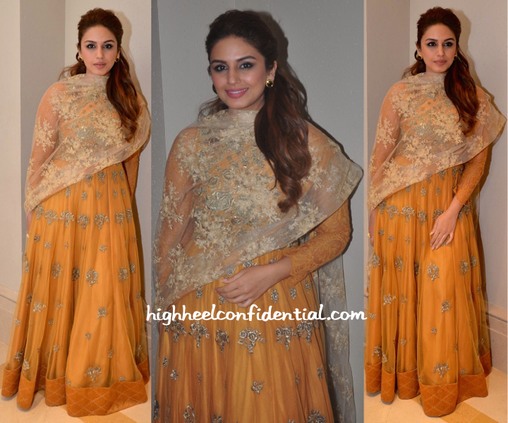 Huma Qureshi At Shirin Morani-Uday Singh Sangeet Ceremony