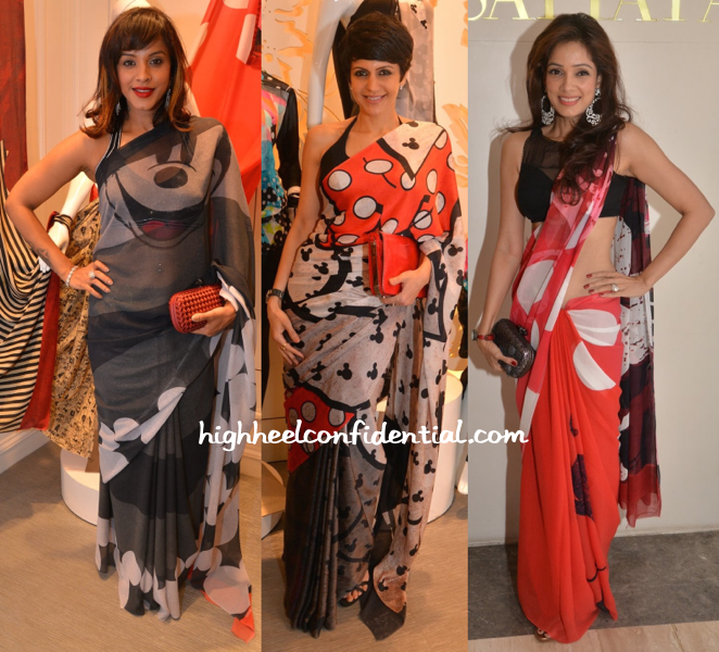 Manasi Scott, Mandira Bedi And Vidya Malvade At Disney For Satya Paul Collection Launch-1