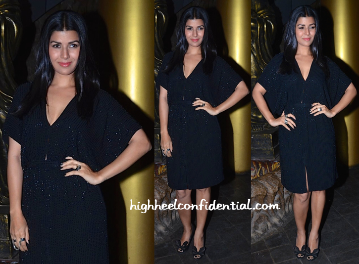 Nimrat Kaur At richa chadha birthday bash