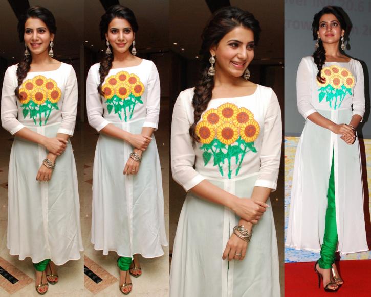 Samantha Ruth Prabhu In Surendri At United Way of Hyderabad Charity Awards