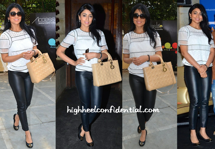 Shriya Saran At Radio One And At An NGO