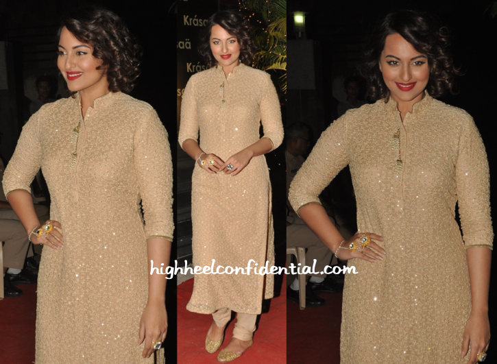 Sonakshi Sinha At Vikram Phadnis' Store Launch