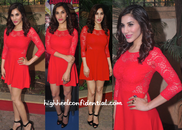 Sophie Choudry In H&M And Eina Ahluwalia At NYE Press Meet