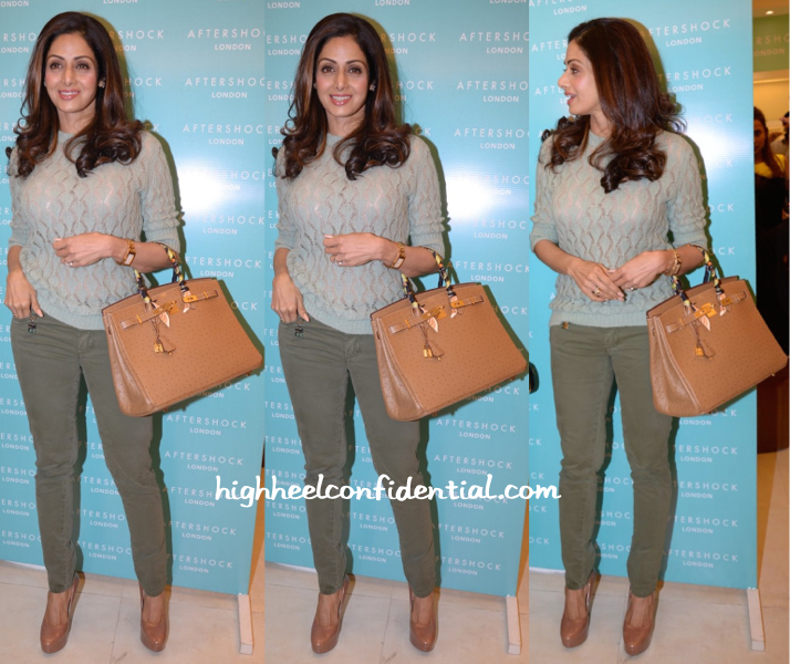 Sridevi In Missoni At After Shock Launch-1