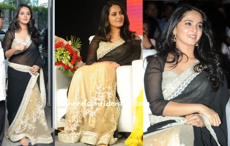 anushka-sabyasachi-lingaa-audio-success-meet