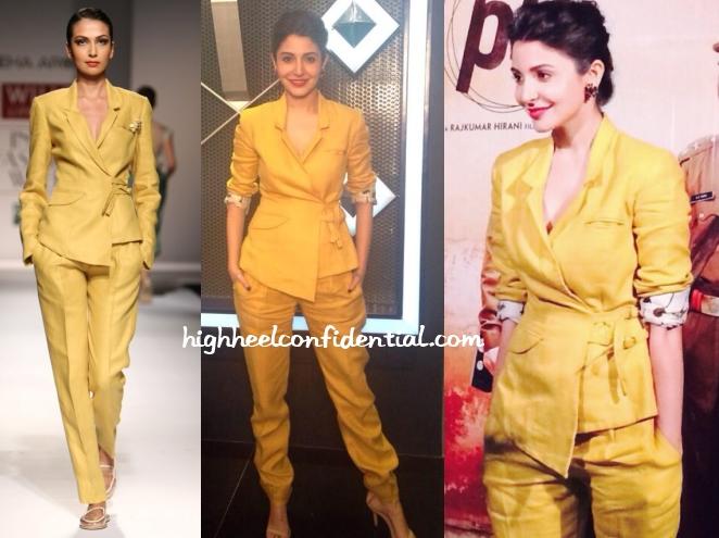 anushka-sharma-sneha-arora-pk-promotions-suit
