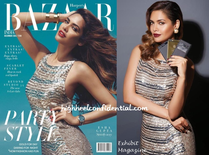 esha-gupta-bazaar-india-exhibit-magazine-2014-rohit-rahul