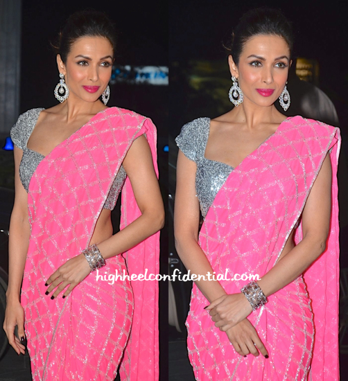 malaika arora khan Shirin Morani-Uday Singh Wedding Reception-1