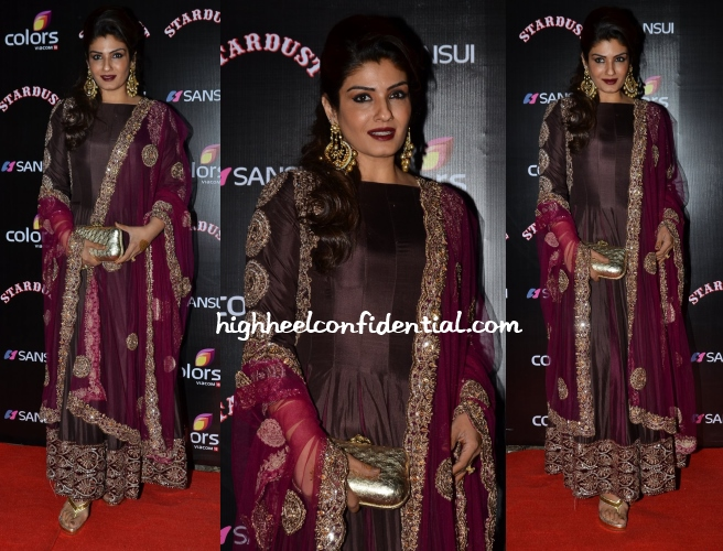raveena-tandon-stardust-awards-2014
