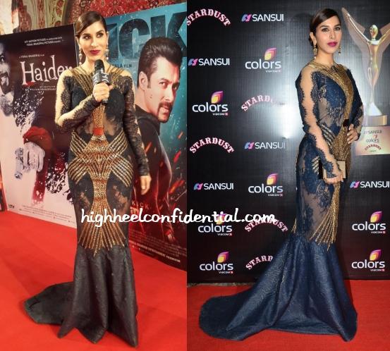 sophie-choudry-tanieya-khanuja-stardust-awards-2014-1