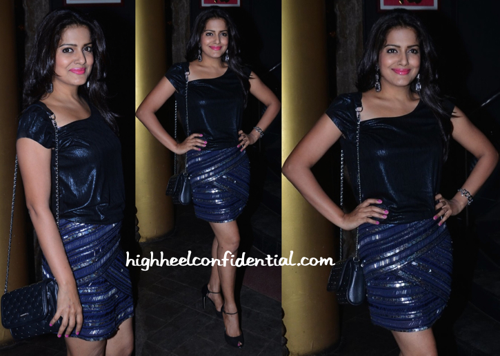 vishakha singh at richa chadha birtday bash