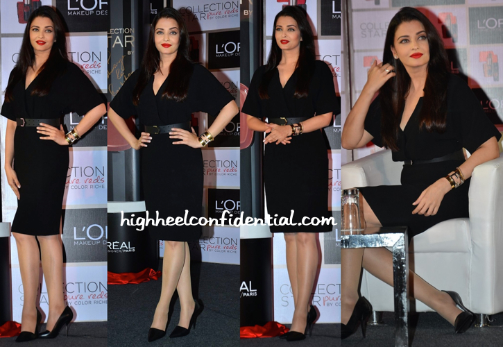 Aishwarya Rai Bachchan At L'Oréal Pure Reds Collection Launch-1