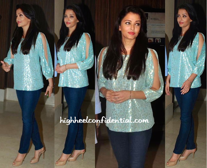 Aishwarya Rai Bachchan Attends A Script Reading Session For 'Jazbaa'-1
