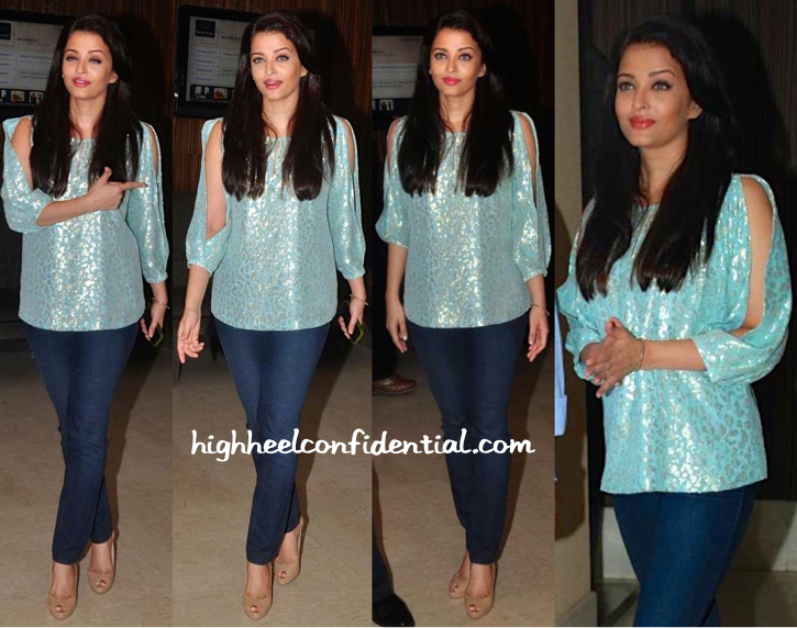 Aishwarya Rai Bachchan Attends A Script Reading Session For 'Jazbaa'-2