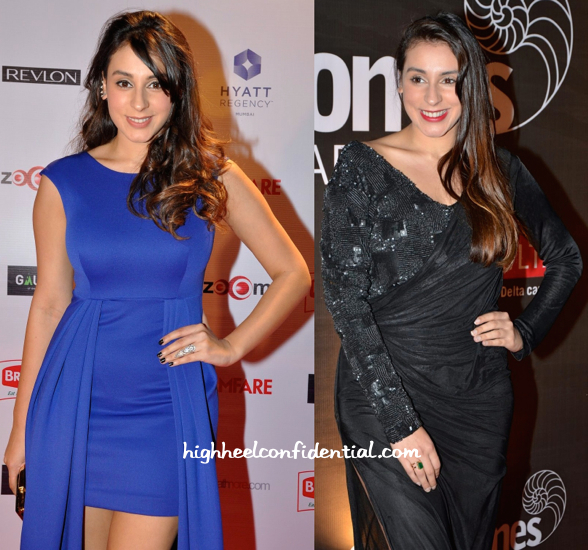 Anindita Nayar In Anand Bhushan At Good Homes Awards And In Mayyur Girotra At Filmfare Pre-Awards 2015 Party-1