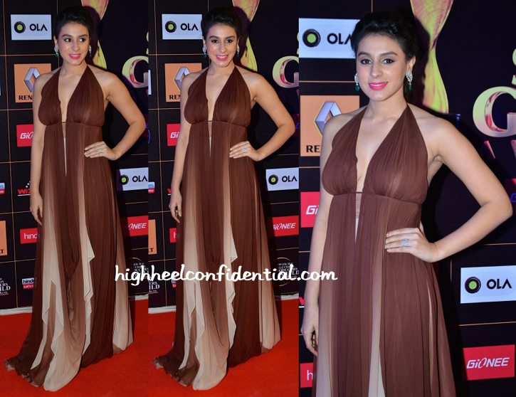 Anindita Nayar In Gauri And Nainika At Star Guild Awards 2015