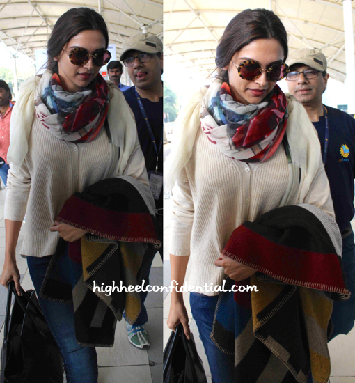 Deepika Padukone Photographed At The Airport-2