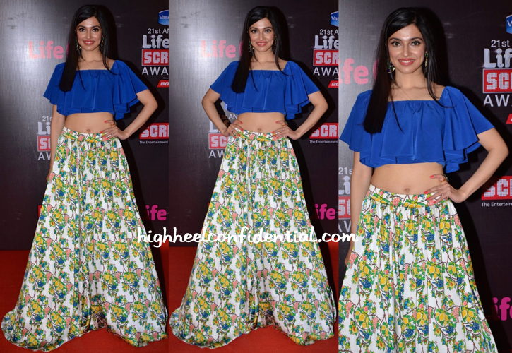 Divya Khosla Kumar In Pia Pauro At Screen Awards 2015