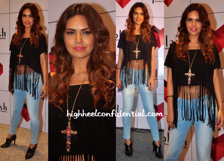 Esha Gupta In Splash And Burberry At Splash Store Launch-2