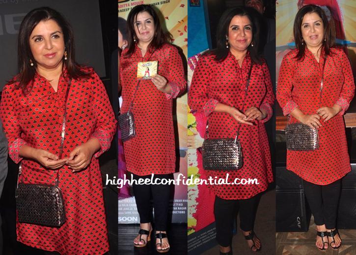 Farah Khan In Pankaj And Nidhi Ar Mrs Scooter launch