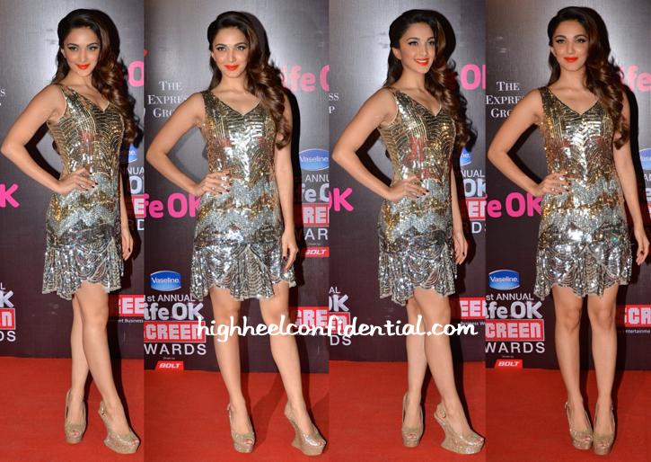 Kiara Advani At Screen Awards 2015