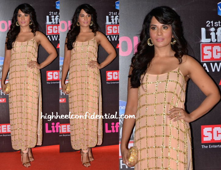 Richa Chadha In Anushka Khanna At Star Screen Awards 2015