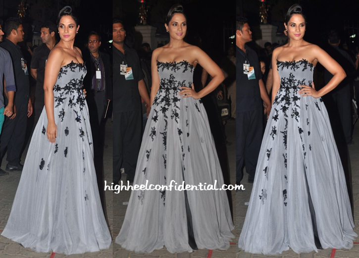 Richa Chadha in Hema Kaul at Filmfare Awards 2015