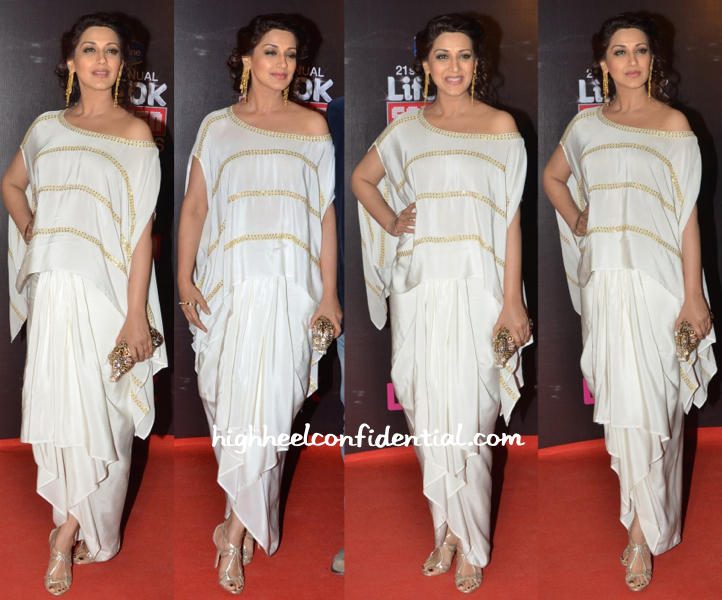 Sonali Bendre In Ayinat By Taniya O'Connor At Star Screen Awards 2015-1