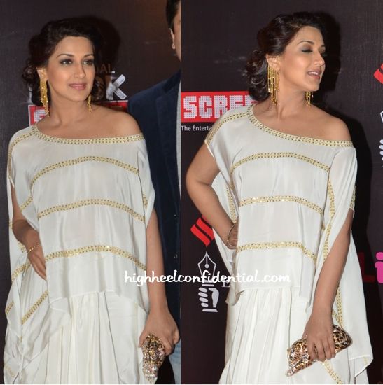 Sonali Bendre In Ayinat By Taniya O'Connor At Star Screen Awards 2015-2