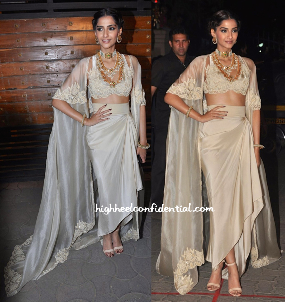 Sonam Kapoor at Filmfare Awards 2015-2