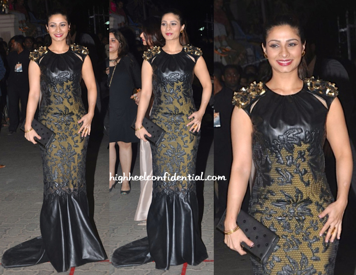 Tanishaa In Tanieya Khanuja At Filmfare Awards 2015
