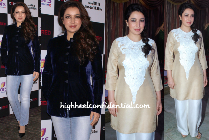 Tisca Chopra At A Colors TV Event And At 'Rahasya' Trailer Launch-1