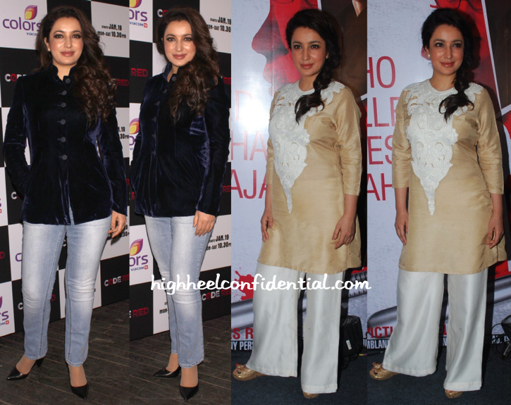 Tisca Chopra At A Colors TV Event And At 'Rahasya' Trailer Launch-2