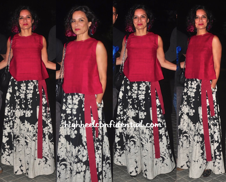 aduna akhtar At Farah Khan's 50th Birthday Bash