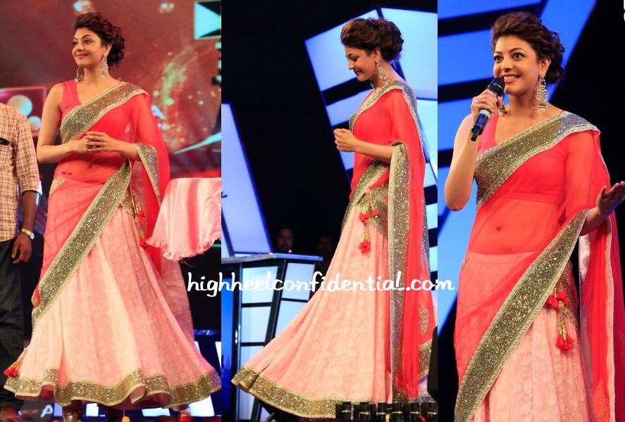 kajal-aggarwal-nikasha-amrita-awards-2014