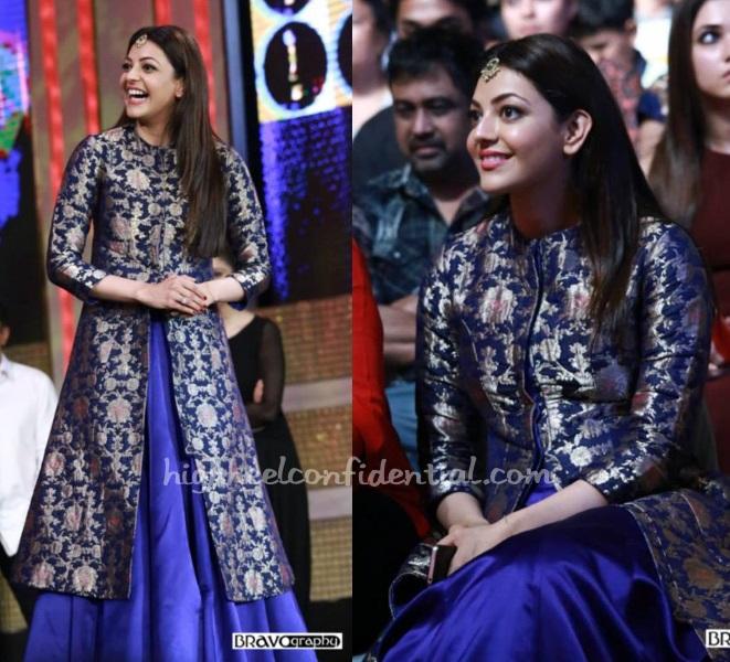 kajal-aggarwal-sanjay-garg-sica-awards-2015