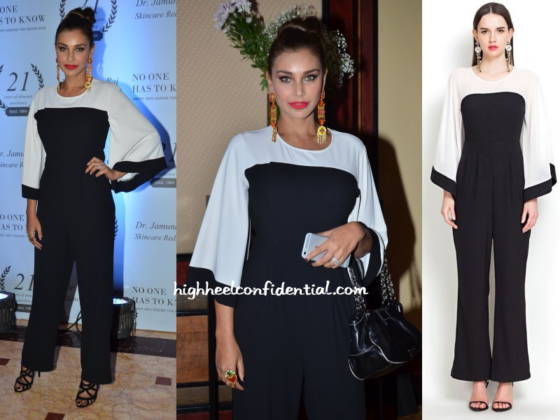 lisa-ray-jamuna-pai-book-launch-jumpsuit