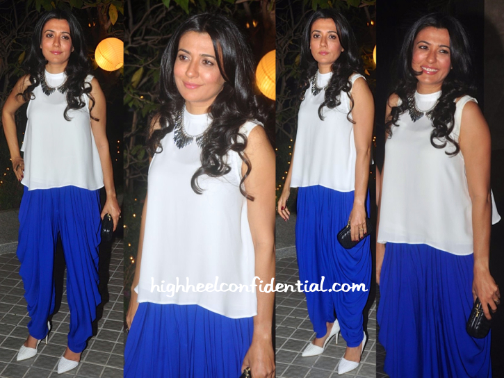mini mathur At Farah Khan's 50th Birthday Bash
