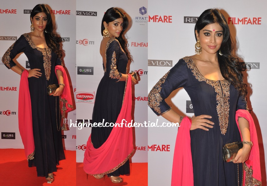 shriya-saran-manish-malhotra-filmfare-pre-awards-2015