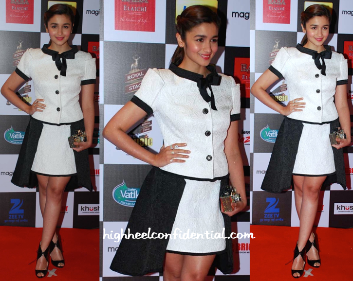 Alia Bhatt In Isabel Sanchis At Mirchi Music Awards 2015-1