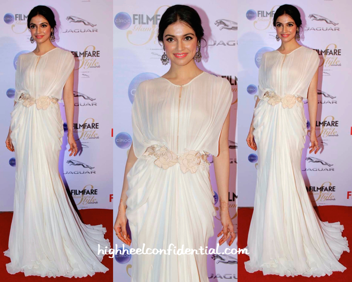 Divya Khosla Kumar In Shehlaa At Filmfare Glamour And Style Awards 2015