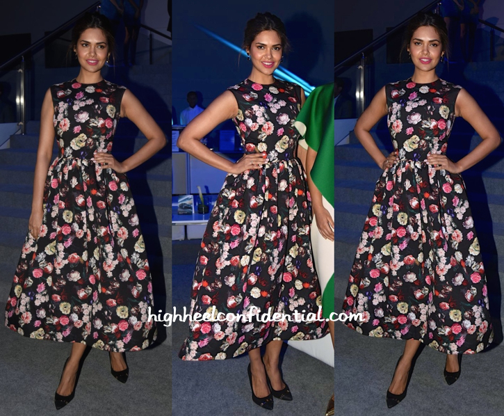 Esha Gupta In Neha Taneja At BMW I8 Launch-1