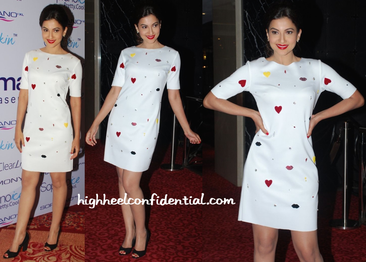 Gauahar Khan In Ash Haute Couture At Alma Lasers Launch