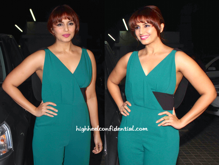 Huma Qureshi At Shamitabh Screening-2