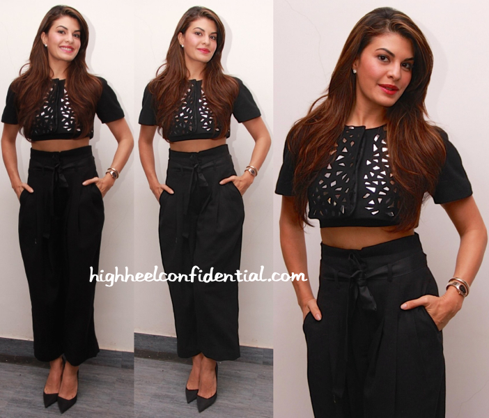 Jacqueline Fernandez In Rajesh Pratap Singh At Roy Promotions-2