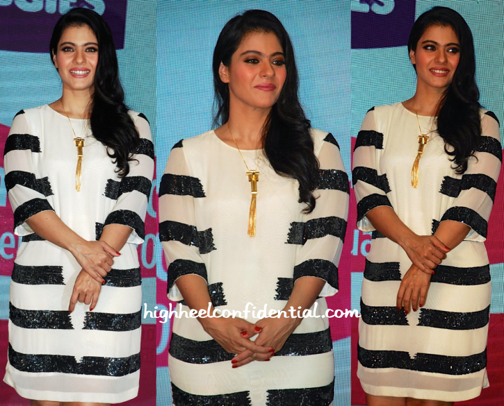 Kajol In Huemn At Huggies Event-2