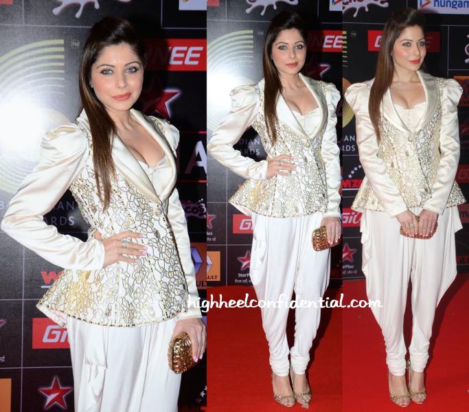 Kanika Kapoor At Global Indian Music Awards (GIMA) 2015